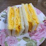 たっぷり卵サンド