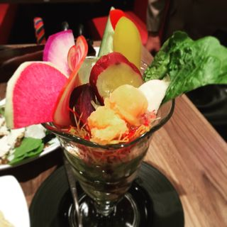 三浦野菜のパフェ仕立て(俺のイタリアン TOKYO )