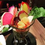 三浦野菜のパフェ仕立て