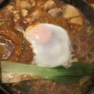 茨城名物 みそ煮込みうどん(茨城マルシェ Restaurant&Bar)