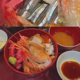 海鮮丼(うなぎ 米花 (よねはな))