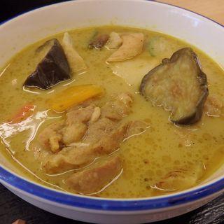 チキンと茄子のグリーンカレー(松屋 浅草橋店 )