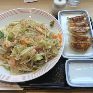 皿うどん餃子5個セット(リンガーハット JRお茶ノ水店 )