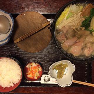 鶏ちゃんこ定食(相撲茶屋 ちゃんこ 江戸沢 総本店 (えどさわ))