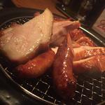 本日のお肉3種!スモークタジン