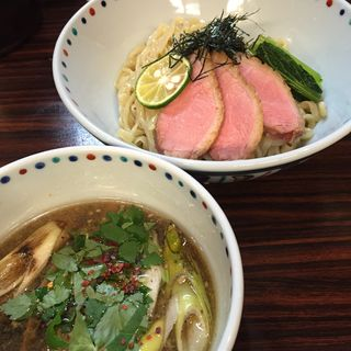鴨清湯つけ麺(5月後半限定)(らー麺 あけどや )