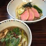 鴨清湯つけ麺(5月後半限定)