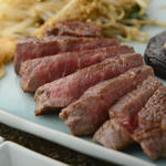 和牛ロースのステーキ
