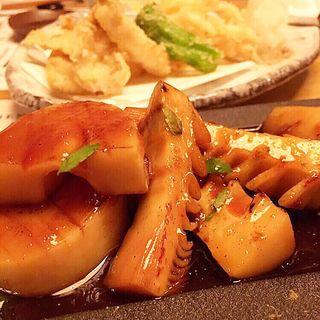 筍ステーキ(情熱食彩 京色 (きょうしょく))