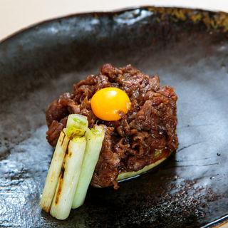 肉そぼろ 焼きネギ(大嶋 (オオシマ))