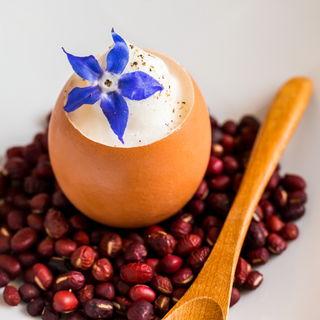 卵のふんわりプリン(ル ヴィーヴル (Revivre))