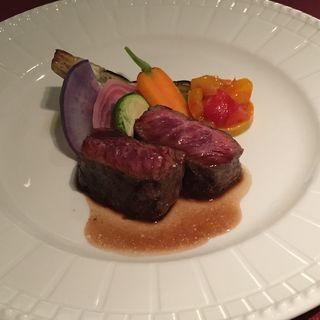 牛肉のグリル(PAPA DAVIDE)