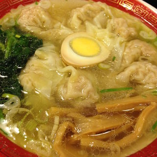広州雲呑麺塩味 ミニサイズ(広州市場 西新宿店 )