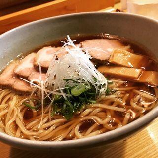らーめん(チャーシュー増し)(山崎麺二郎 (やまざきめんじろう 山﨑麺二郎))