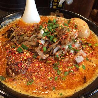 カラ鬼増し(カラシビ味噌らー麺 鬼金棒 (キカンボウ))