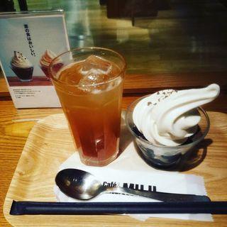 コーヒーゼリーパフェ(Cafe & Meal MUJI 渋谷西武)