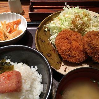 メンチカツ定食(やまや コレド室町店 )