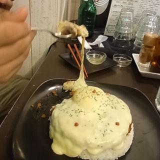 キーマカレーチーズトッピング(みのりんご )