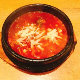 スンドゥブチゲ(チーズ)(BIAN 恵比寿店 (美庵 ビアン))