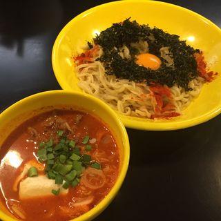 韓国風辛味噌つけ麺(限定)(みそ味専門 マタドール )