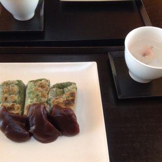よもぎ餅(虎屋茶寮京都一条店)