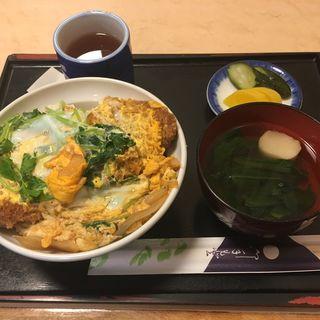 カツ丼(松月庵)