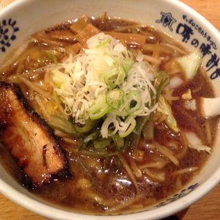 醤油ラーメン(味の時計台 新橋店 (あじのとけいだい))