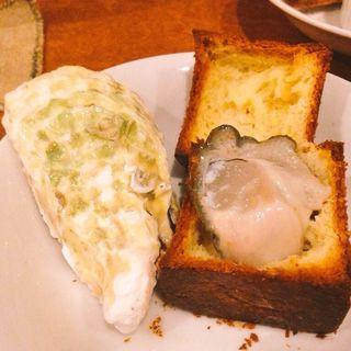 生牡蠣ブリオッシュ(ドランカー 恵比寿店 )