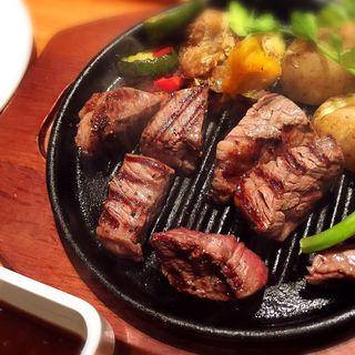 豪州黒牛プレミアムカットステーキ(いしがまやハンバーグ マルイファミリー溝の口店 )