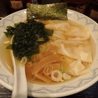 海老塩わんたん麺(しおらーめん 塩たいぜん )