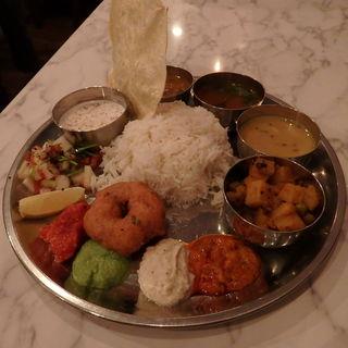 ベジタリアンセット(インド食堂TADKA (タルカ))