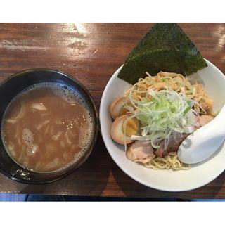 つけ麺+燻タマ(葵 )