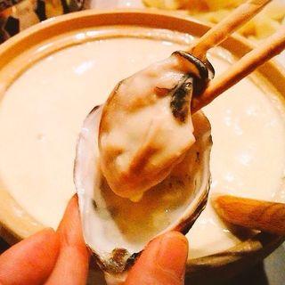 生牡蠣シャンパーニュチーズフォンデュ(チキスタ (chiki・sta))