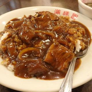 牛バラ肉カレーご飯(中国料理 保昌本館)