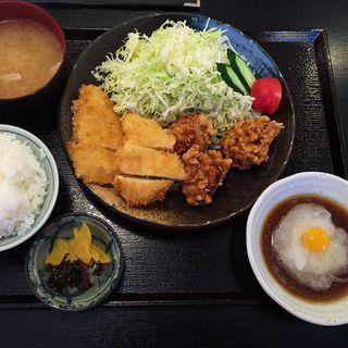ミックスチキン定食(居酒屋 さち じぞう通り店 )