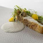 白身魚のポワレ ポルチーニソース