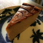 珈琲を使ったモカチーズケーキ
