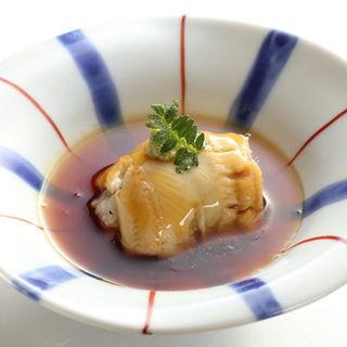 ハモの湯引き アナゴまき(寿司 向月 本館 (こうげつ))