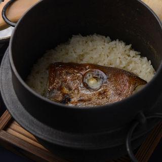 真鯛の土鍋(割烹 新風 )
