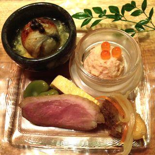 前菜6種盛り(カジュアル割烹 Shun )
