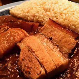 皮付き豚角煮カレー(もうやんカレー 246 渋谷店 )