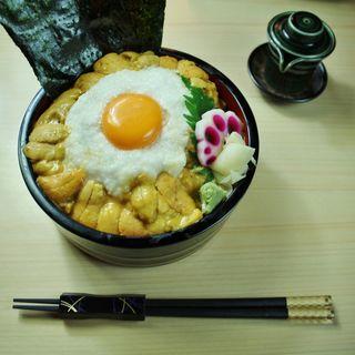 うにのとろろ丼(華火 (HANABI))