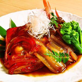 真鯛の煮付け(華火 (HANABI))