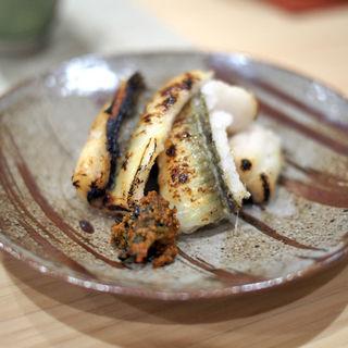 アナゴの塩焼き(鮨 たかはし)