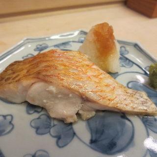 サワラの塩焼き(すし おおの)