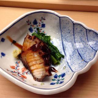 ブリの照り焼き(銀座 鮨 わたなべ )