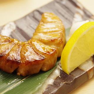マカジキの照り焼き(銀座 鮨 わたなべ )