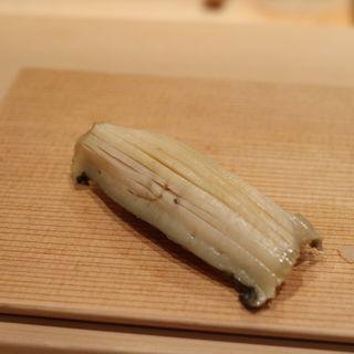 あわびの握り(鮨 太一)