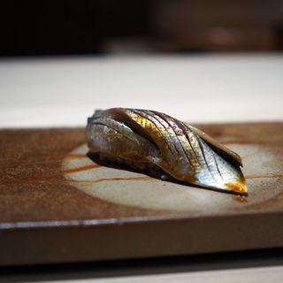 焼きサバの握り(鮨 銀座 おのでら)