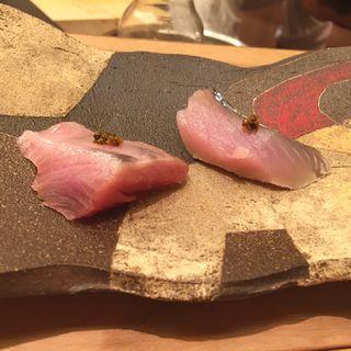 鰹と〆鯖(鮨ふじ田 )